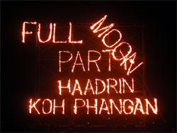 Full Moon Party Koh Phangan Jan 2005