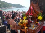 Full Moon Party on Koh Phangan Island still alive in September 2004