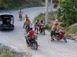 Motorbikes, Cars, Taxis and Accidents on the Island of Koh Phangan