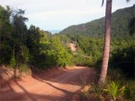 Koh Phangan Island – Newly build road connects Thansadet and Thong Nai Pan Bay