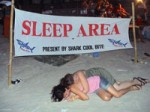 Koh Phangan Full Moon Party Aftermath Gossip directly from Haad Rin Beach in August 2008