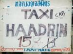 Koh Phangan Taxi Fare