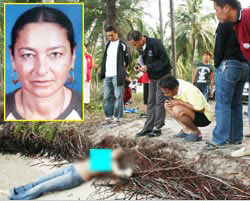 Phangan German Tourist Raped Murder