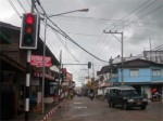 Koh Phangan Island gets traffic system upgrade in Thongsala town!