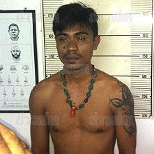 Thai Suspect Ekkapan Kaewkla