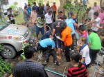 Three local Thai men died in tragic accident due to poisonous gas in deep well