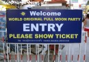 Koh Phangan Full Moon Party may attract up to 40.000 party goers in January 2015