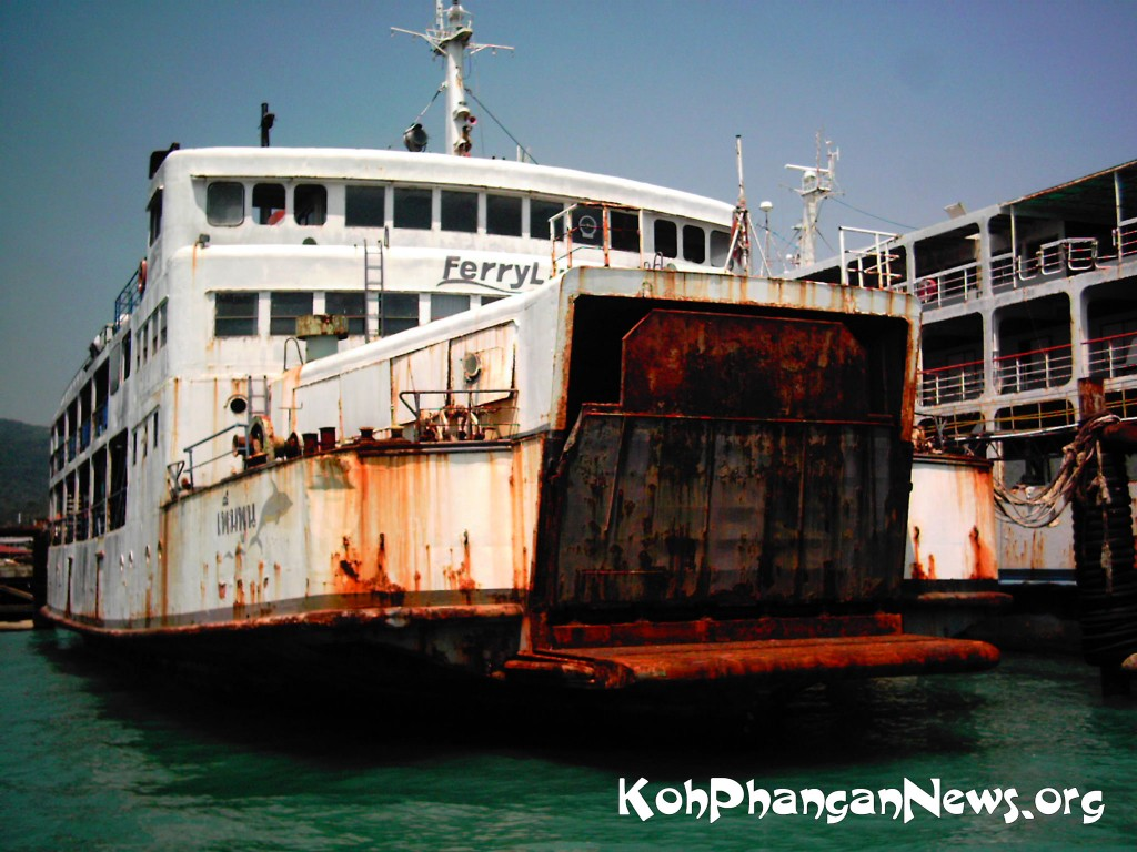 Ferry Captains Lose License for Racing to Koh Phangan Island