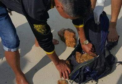 Dead farang found floating in the ocean off Koh Phangan Island