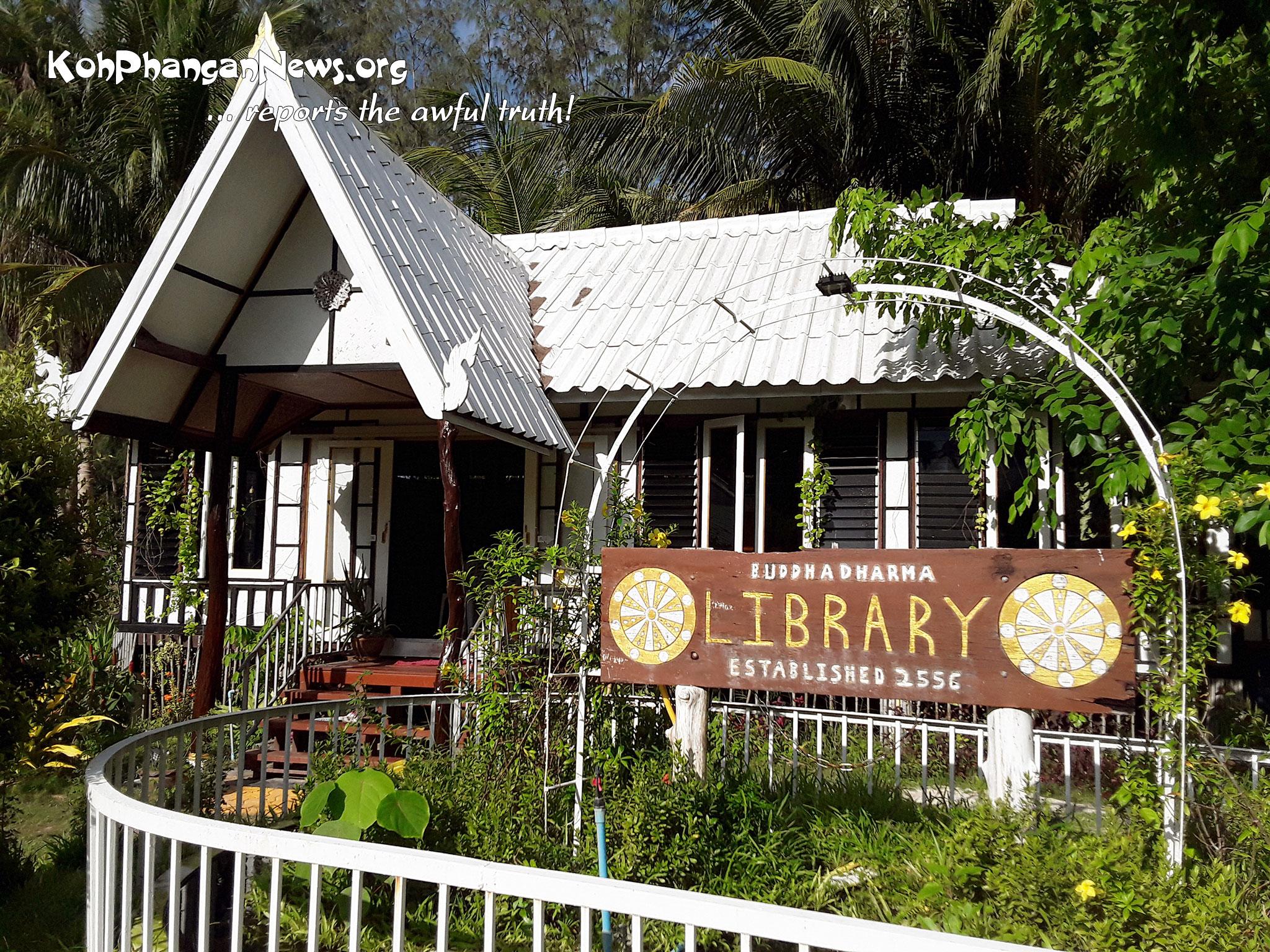Free Public Library in Thong Nai Pan Yai