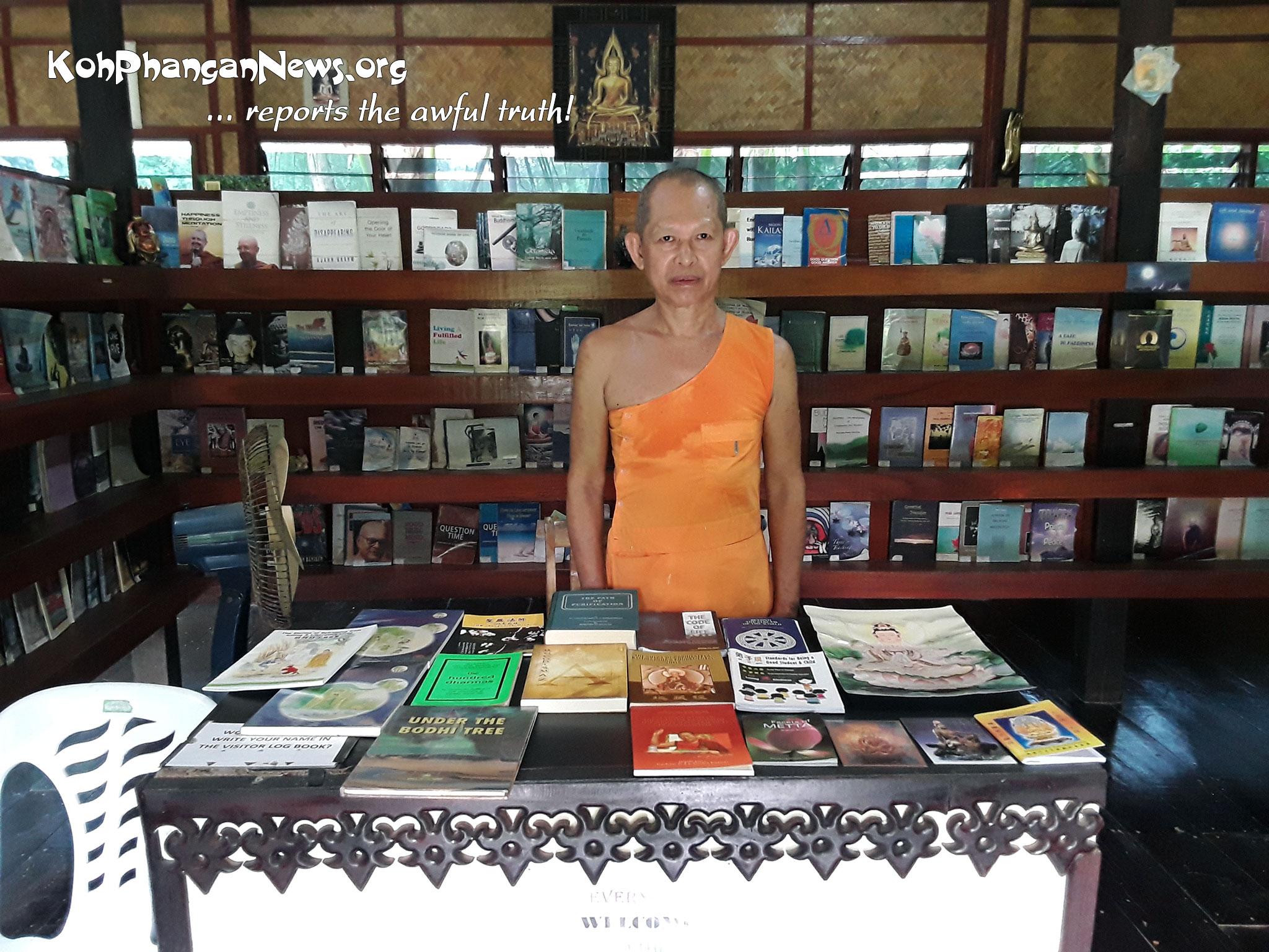 Free Public Library in Thong Nai Pan Yai Koh Phangan