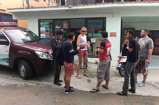 Koh Phangan police officers accused in assault and extortion of Russian tourist couple