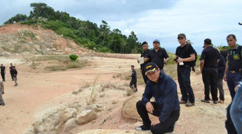 Scandal emerges as key forestry official re-located over Koh Phangan illegal airport landscaping