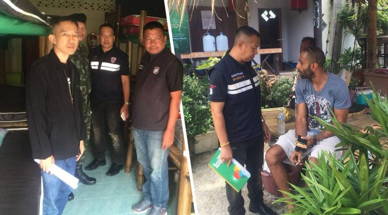 Lebanese manager of The Wanderlust Hostel in Baan Tai charged for marijuana possession