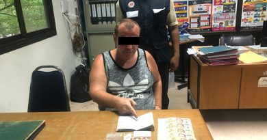 German on overstay caught selling LSD tabs in sting operation on Koh Phangan