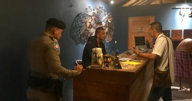 Slovakian man arrested for illegally running spa on Koh Phangan