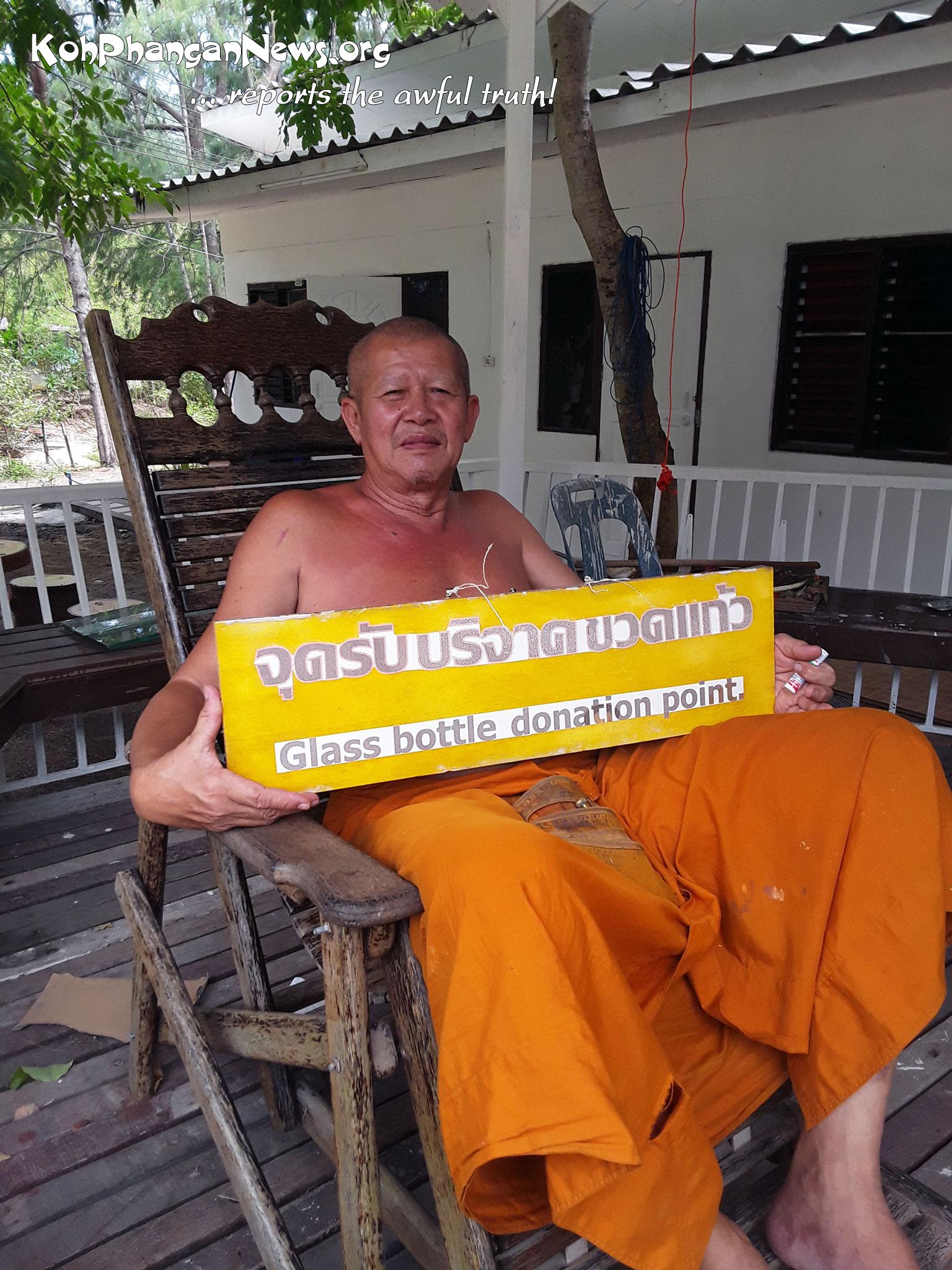 Beer Bottle Pagoda Koh Phangan