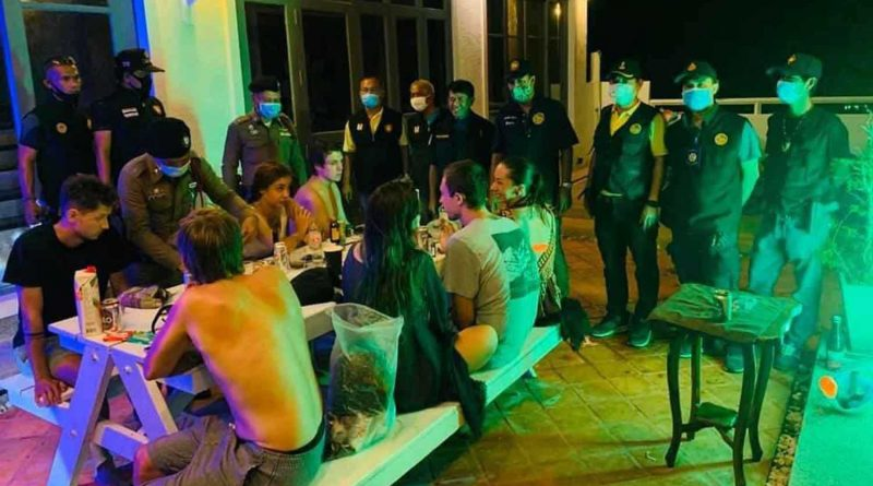 Russian tourists caught partying in house on Koh Phangan island