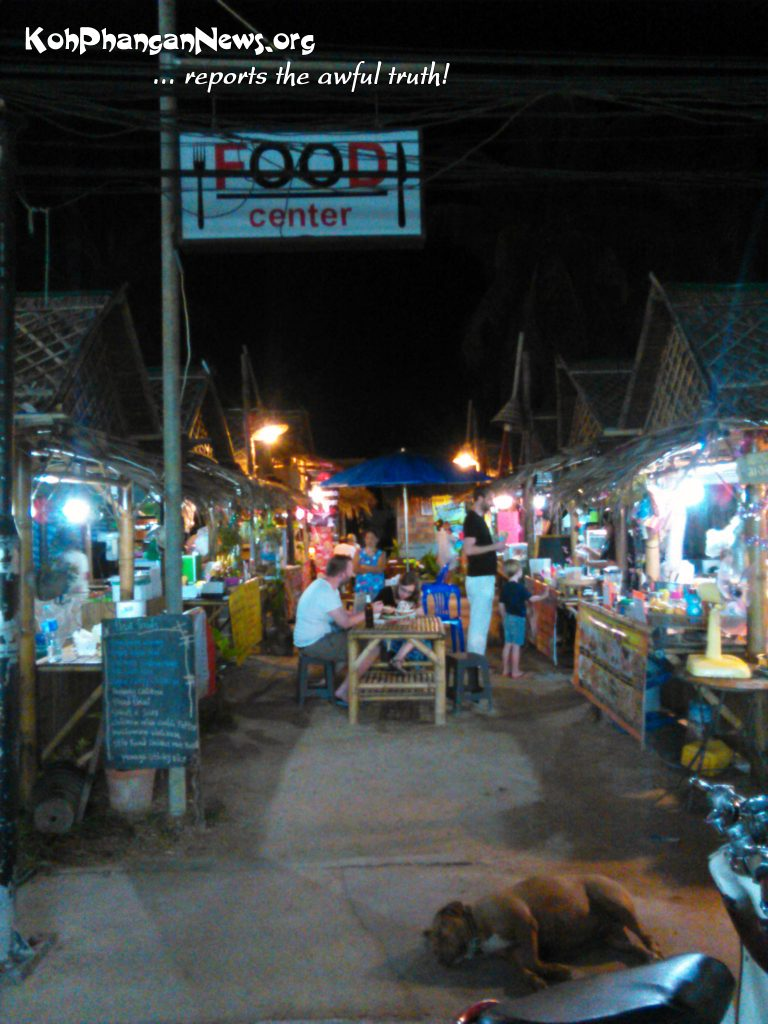 The culinary court has been born on the main road of Thong Nai Pan Yai