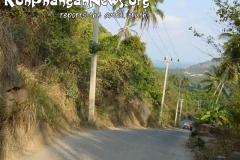 Dangerous Roads Koh Phangan