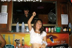 Koh Phangan Island Full Moon Party April 2003