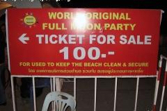 Koh Phangan Island Full Moon Party December 2008