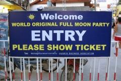 Koh Phangan Island Full Moon Party September 2008