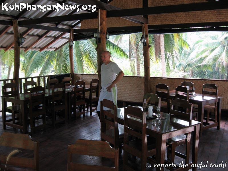 Peppercorn restaurant sri thanu koh phangan island