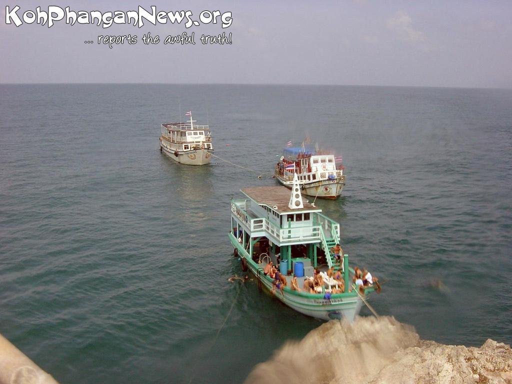 Divesite Sail Rock Koh Phangan Island