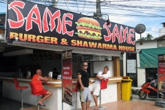 Same Same Burger House Koh Phangan